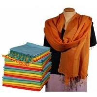 Sjaal Chakra Pashmina - Oranje