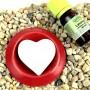 Hart geursteen rood